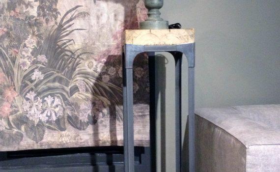 sokkel zuil houten blad